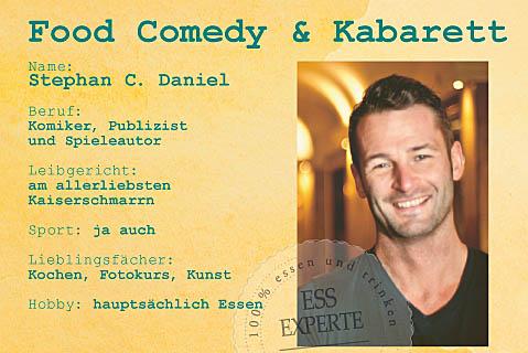 Stand-up Comedy  Stephan C. Daniel LIVE Kabarett Entertainer Gesundheit Ernährung, Speaker, Gesundheit Ernährung