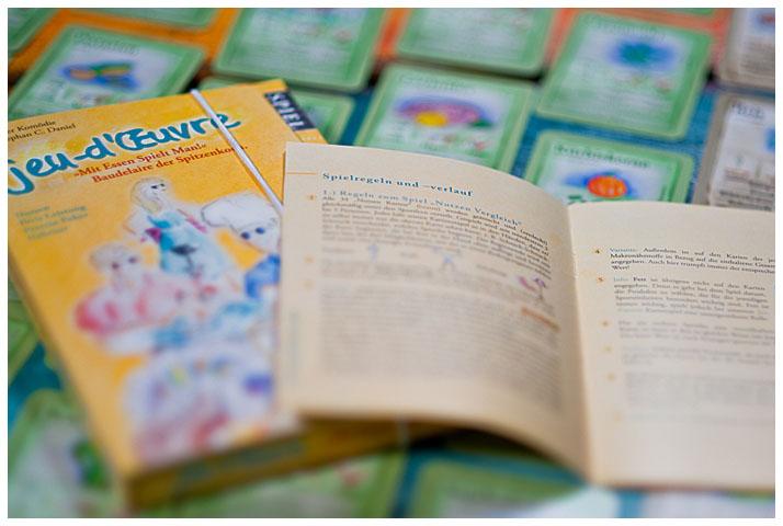 Anleitung Heft Ernährung Lernspiel Kartenspiel