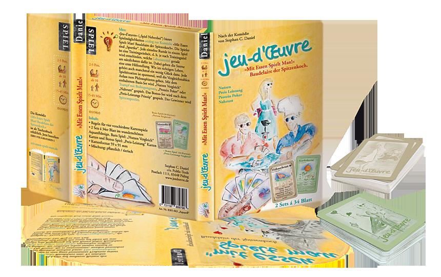 »Jeu-d'œuvre« Kartenspiele-Box ISBN 978-3-9818597-1-3
