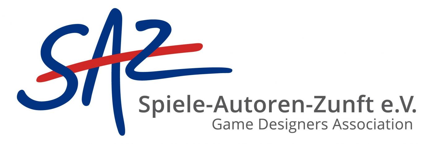 Die Spiele-Autoren-Zunft e.V. (SAZ) vertritt als Interessenverband die Rechte der Spieleautorinnen und Spieleautoren in der Öffentlichkeit sowie gegenüber Verlagen und anderen Werknutzern. Sie fördert angehende Spieleautorinnen* und Spieleautoren und setzt sich für eine Stärkung des Kulturguts Spiel in der Gesellschaft ein.